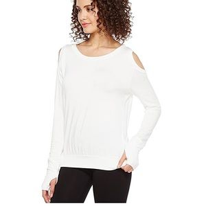 Trina Turk Women's Long Sleeve Cold Shoulder Top